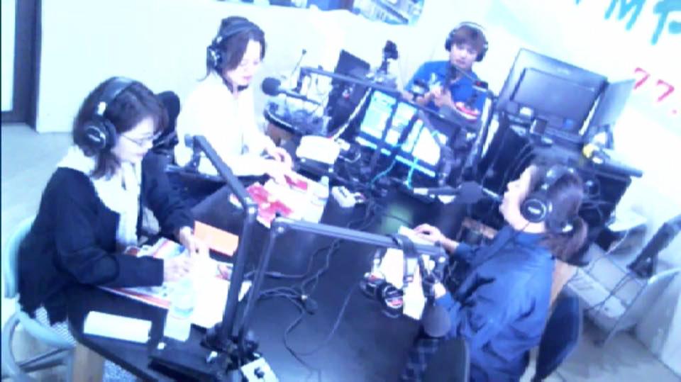 沖縄ラジオ出演 FMやんばる 77.6MHz