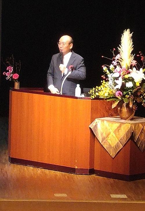 10/10 四谷区民ホールでYSコンサルタント岡田社長が講演
