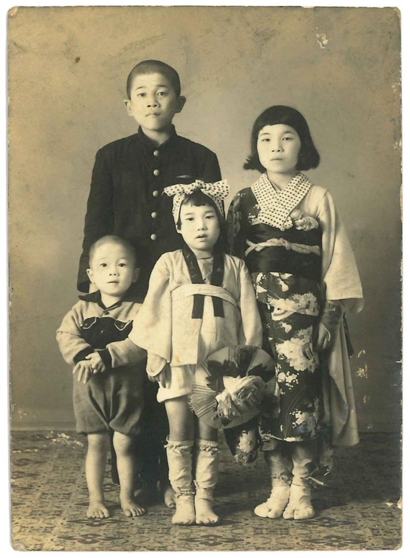 3歳時の貴重な写真